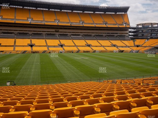 Heinz Field Section 133 view