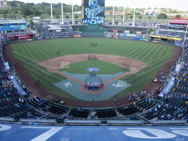 Kauffman Stadium Section 420 view