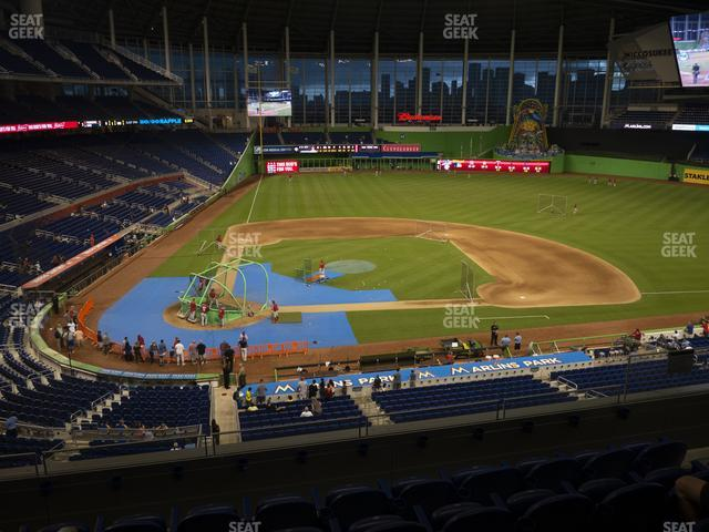 Marlins Park Section 211 view