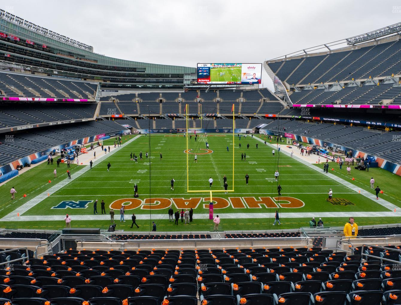 Chicago Bears at Soldier Field Section 252 View