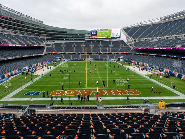 Soldier Field Section 252 view
