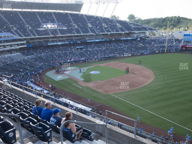 Kauffman Stadium Section 436 view