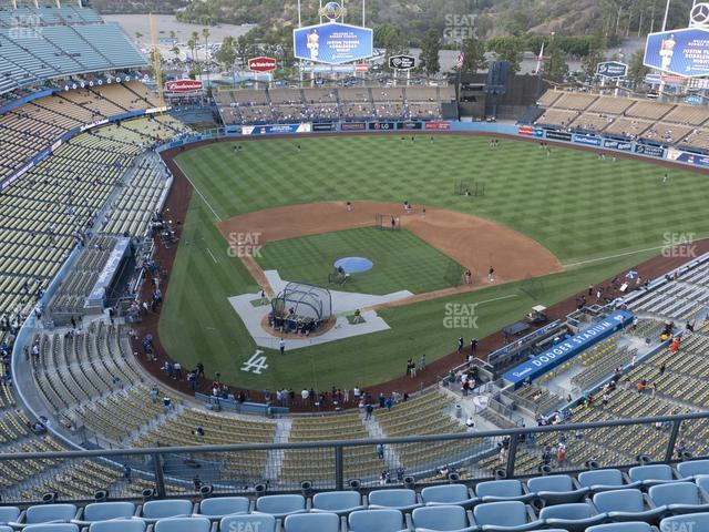 Dodger Stadium Section Top Deck 6 view