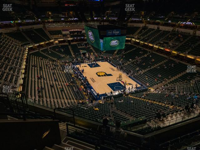 Bankers Life Fieldhouse Section 203 view