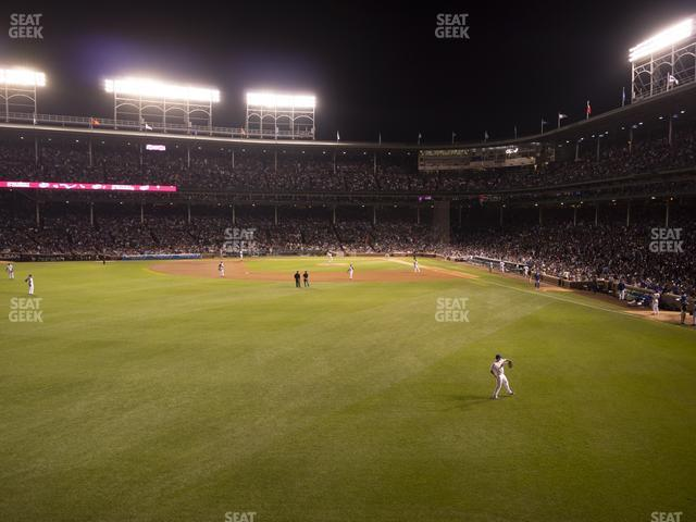 Wrigley Field Budweiser Bleachers 502 view