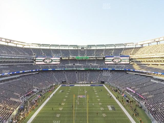 MetLife Stadium Section 226 view