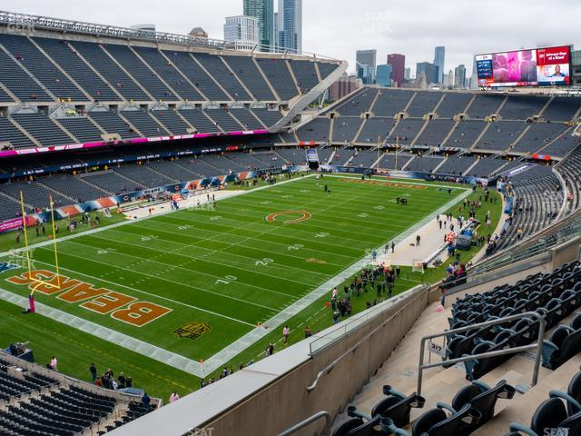 Soldier Field Section 317 view