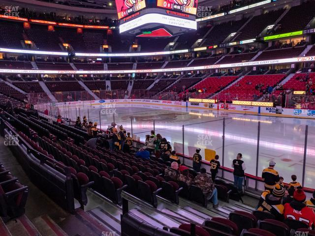 Canadian Tire Centre Section 113 view