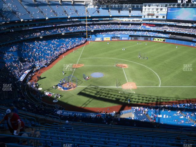 Rogers Centre Section 519 R view