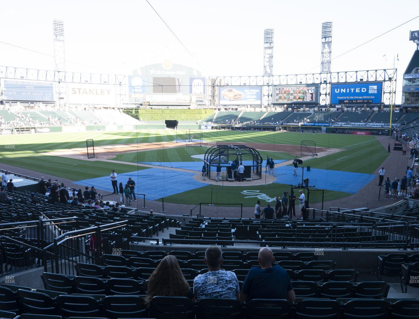 Chicago White Sox at Guaranteed Rate Field Section 133 View