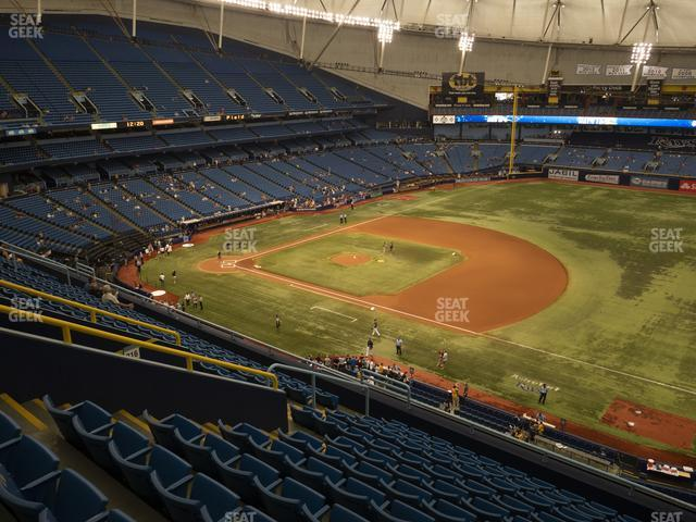 Tropicana Field Section 318 view