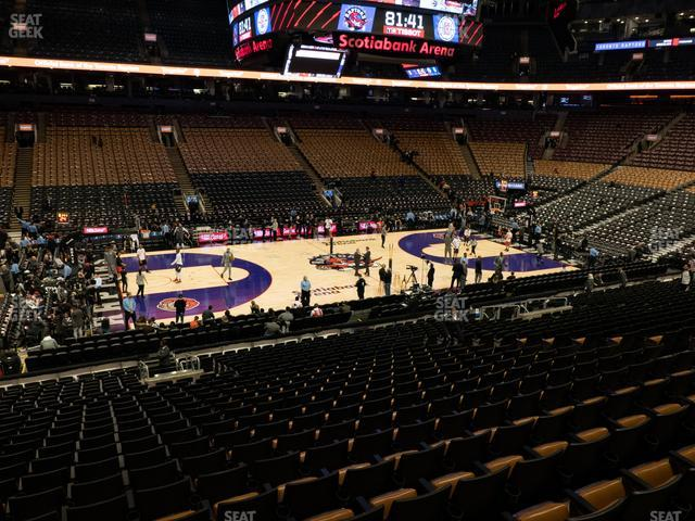 Scotiabank Arena Section 109 view