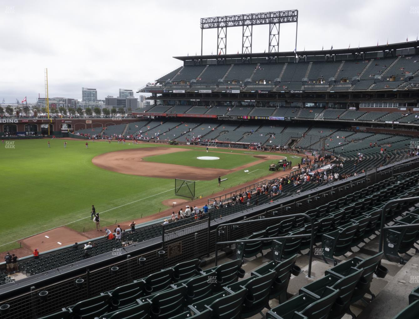 San Francisco Giants at Oracle Park Section 230 View