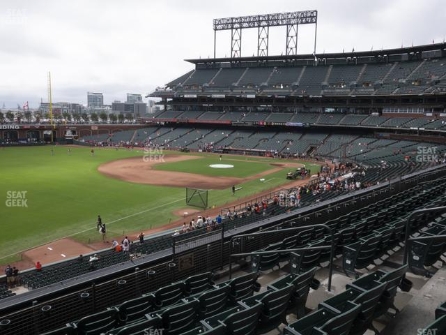 Oracle Park Section 230 view