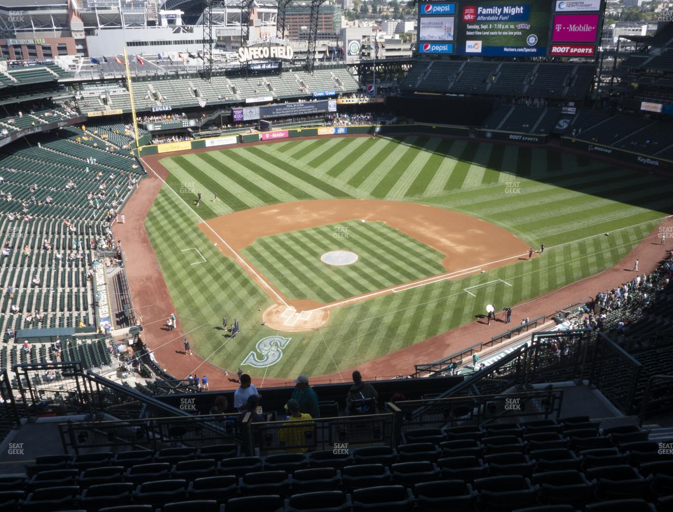 Seattle Mariners at T-Mobile Park Section 328 View