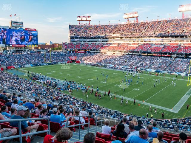 Nissan Stadium Section 229 view