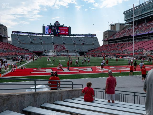 Ohio Stadium Section 8 AA view