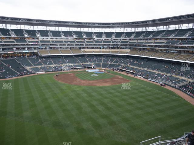 Target Field Section 333 view