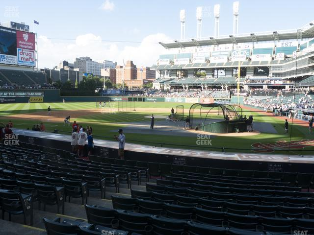 Progressive Field Section 157 view
