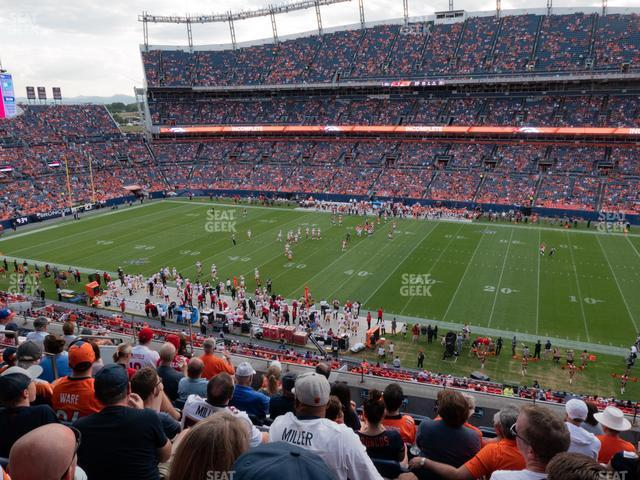 Empower FIeld at Mile High Section 334 view