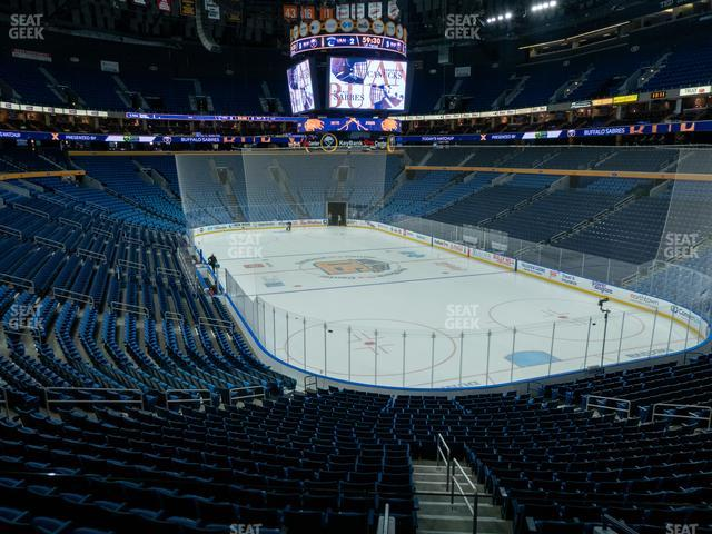 KeyBank Center Section 201 view