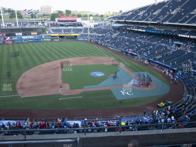 Kauffman Stadium Section 411 view