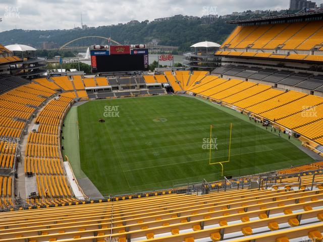 Heinz Field Section 520 view