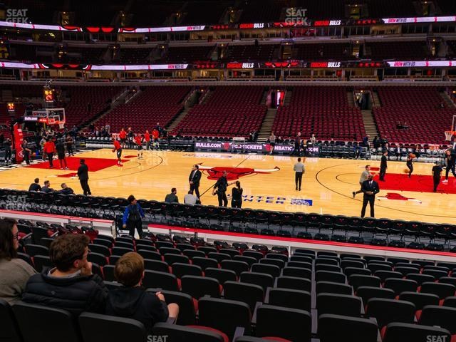 United Center Section 111 view