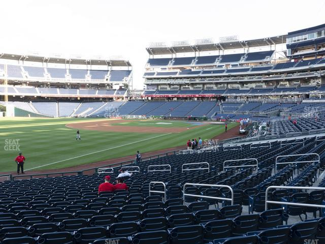 Nationals Park Section 109 view