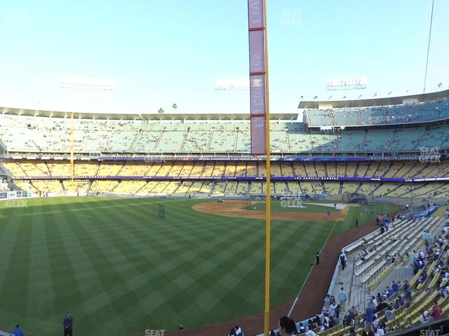 Dodger Stadium Loge Box 165 view