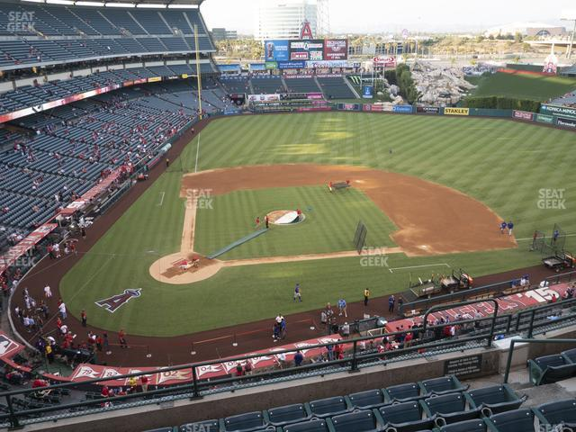 Angel Stadium of Anaheim Section 423 view