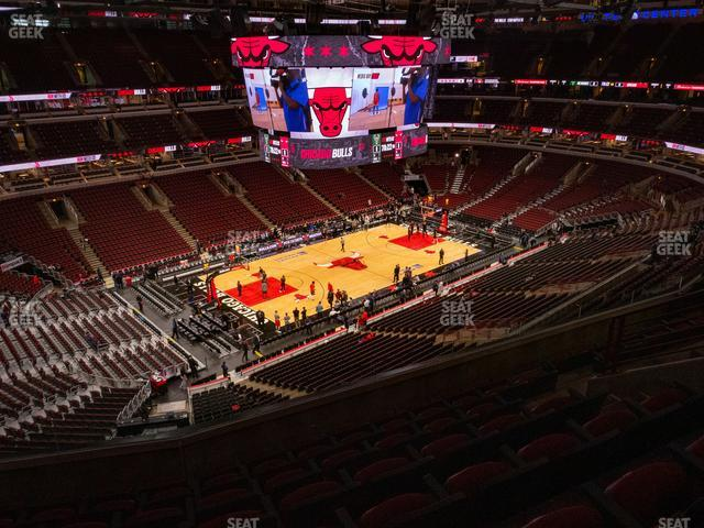 United Center Section 321 view