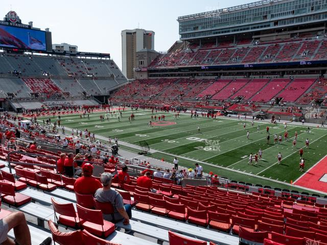 Ohio Stadium Section 14 A view