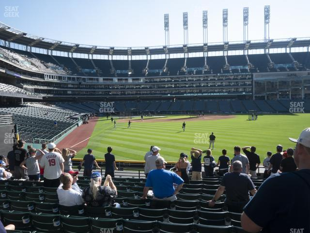 Progressive Field Section 113 view