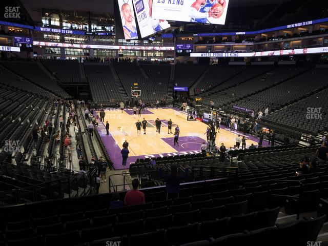 Golden 1 Center Section 115 view