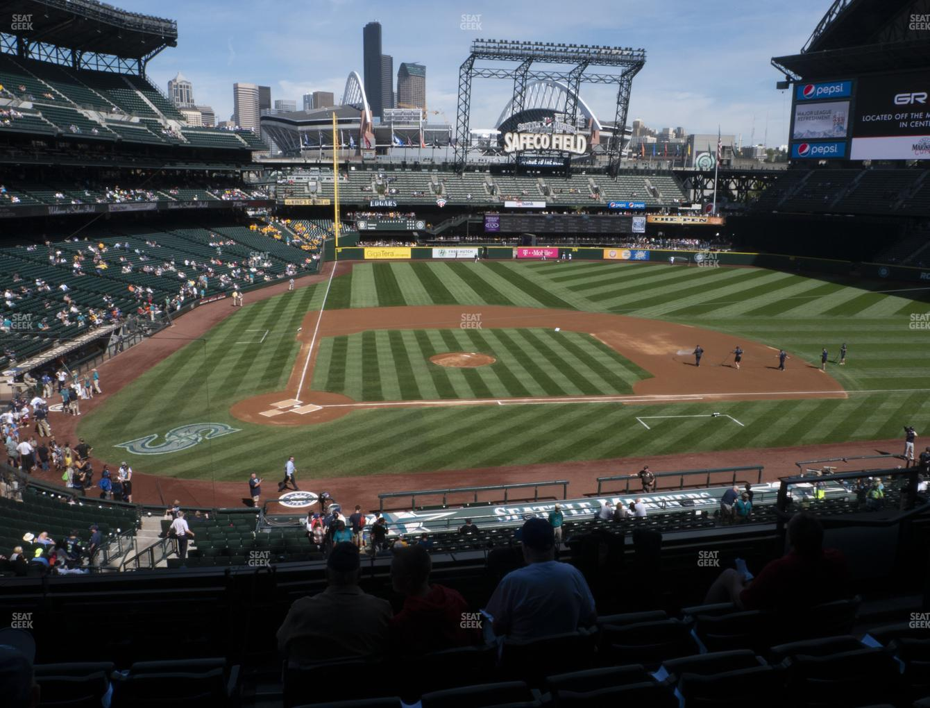 Seattle Mariners at T-Mobile Park Section 226 View