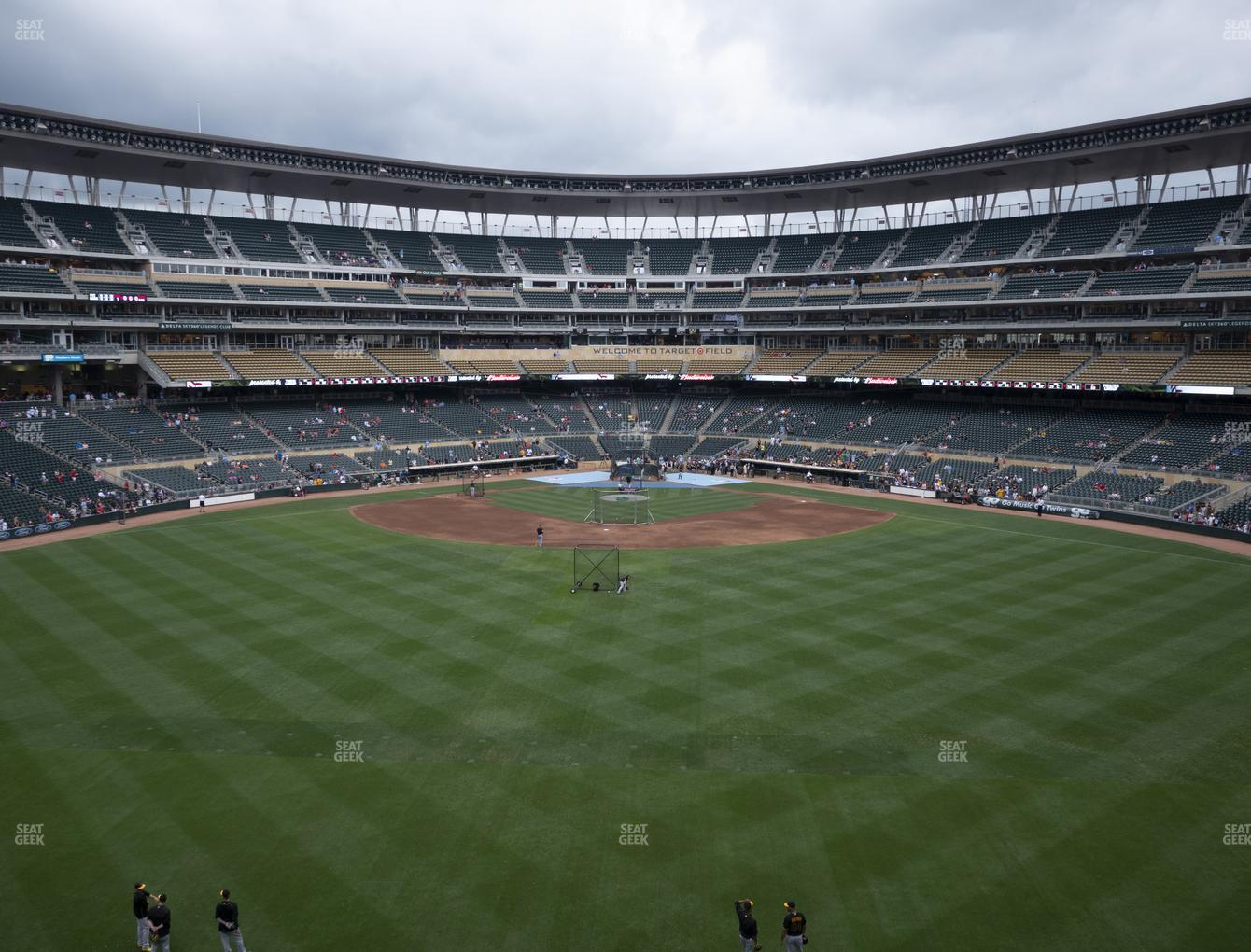 Minnesota Twins at Target Field Section 235 View