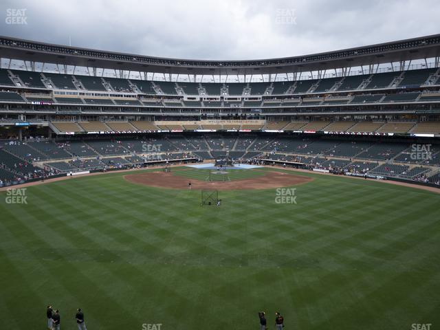 Target Field Section 235 view