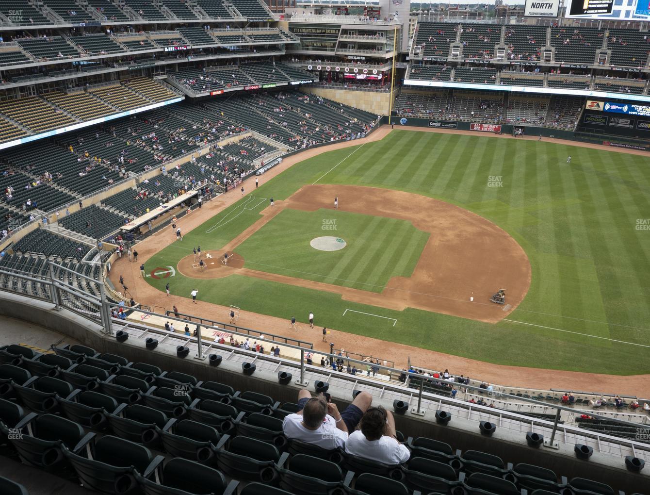 Target field section 308 seat views seatgeek