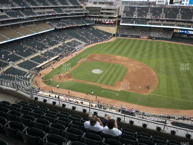 Target Field Section 308 view