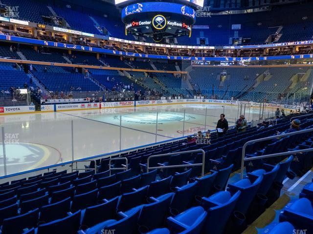 KeyBank Center Section 119 view