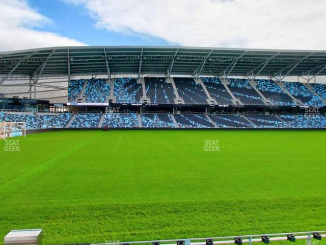 Allianz Field Section 35 view