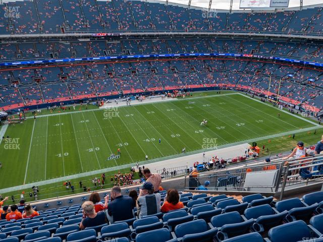 Empower Field at Mile High Section 537 view