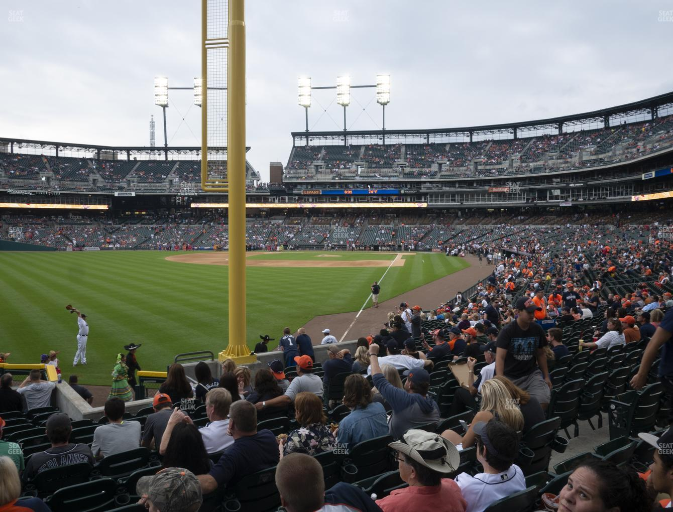 Detroit Tigers at Comerica Park Section 144 View