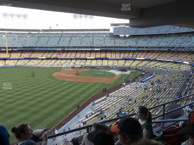 Dodger Stadium Section Club 251 view