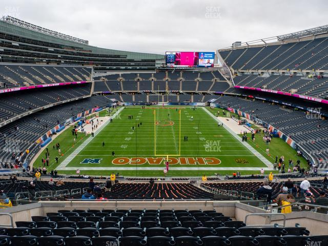 Soldier Field Section 352 view
