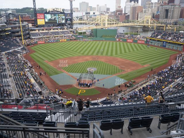 PNC Park Section 315 view