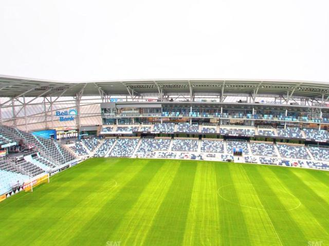 Allianz Field Section 114 view