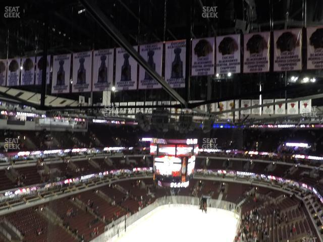 United Center Section 307 view