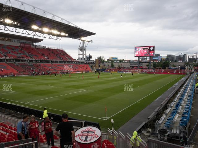 BMO Field Section 112 view